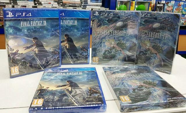 Final Fantasy XV ya se vende en Francia también