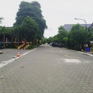 Conblock Untuk Area Lahan Parkir Kendaraan
