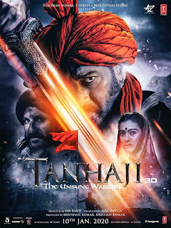 Download Tanhaji The Unsung Warrior (2020) Full Hindi Movie 480p PreDVDRip