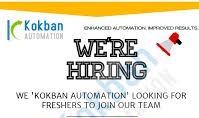 Kokban Automation Pvt Ltd is hiring on their Payroll for  Diploma Engineer Trainee (D.E.T) /  Graduate Engineer Trainee(G.E.T)