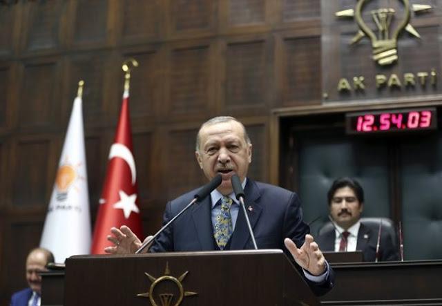 Ερντογάν: «Θα προστατεύσουμε τους ομογενείς μας σε Ελλάδα - Κύπρο - Βουλγαρία»