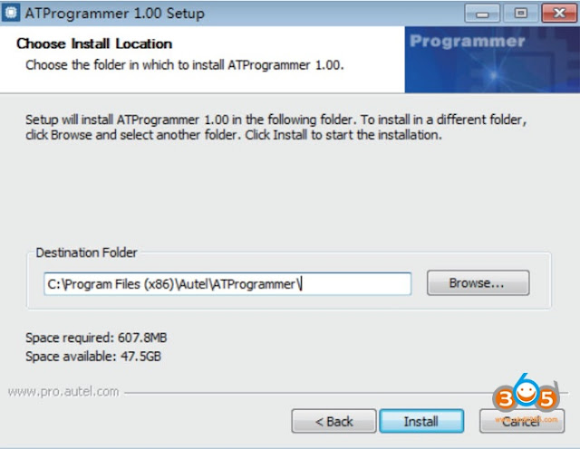 install-autel-XP400-software-2