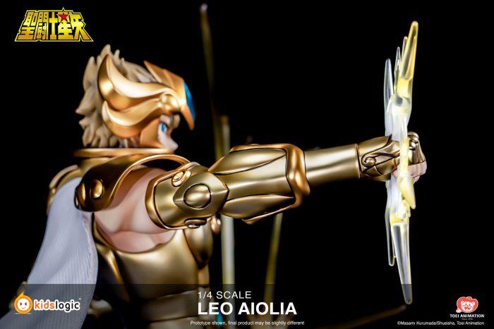 Figuras: Leo Aiolia de Saint Seiya - Kids Logic
