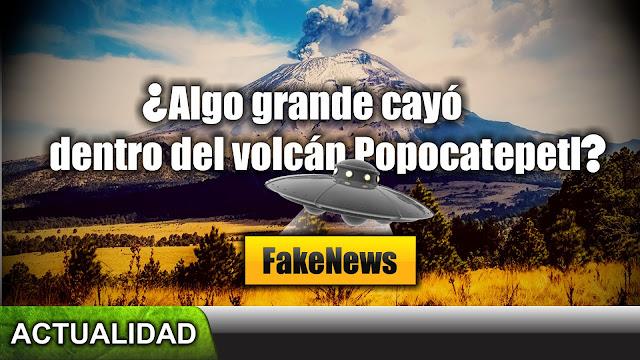 ¿Algo GRANDE acaba de impactar en el volcán Popocatépetl?, respondiendo al canal verdad oculta Live