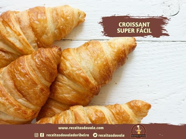 Receita de Croissant Super Fácil