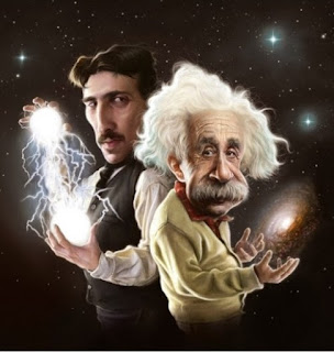 Albert Einstein ve Nikola Tesla