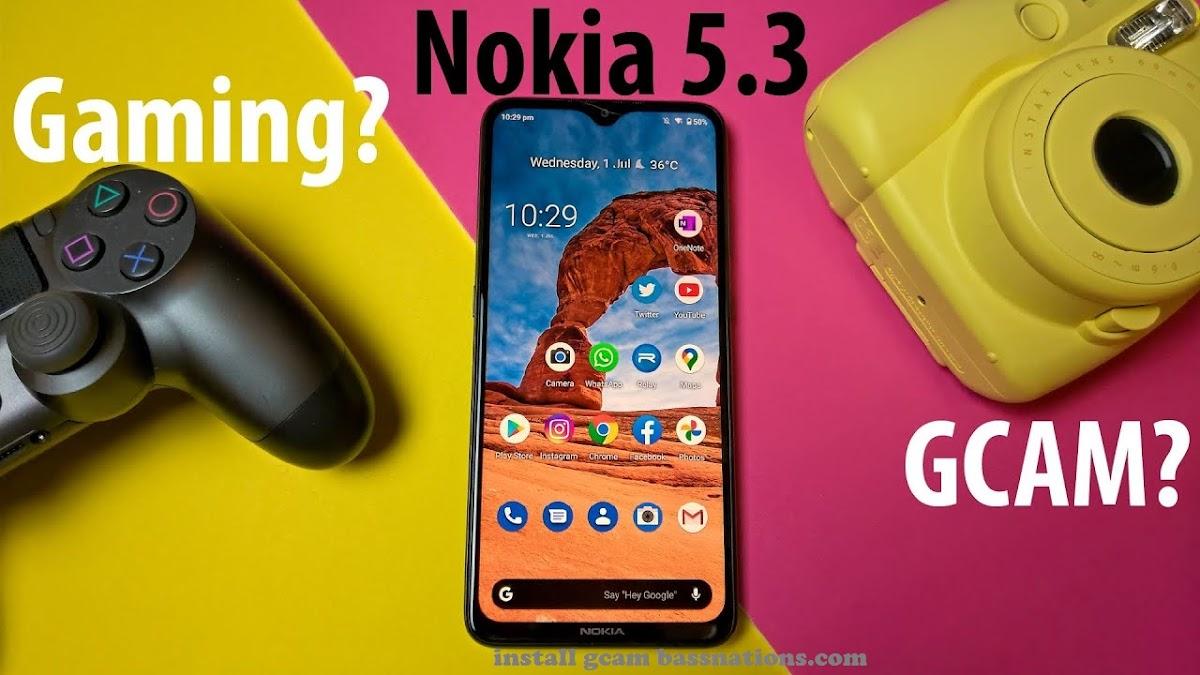 Download Wallpaper Download Best GCam 7.4 Nokia 5.3