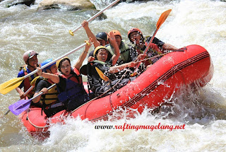 Rafting Magelang Murah, Rafting Sungai Elo Murah