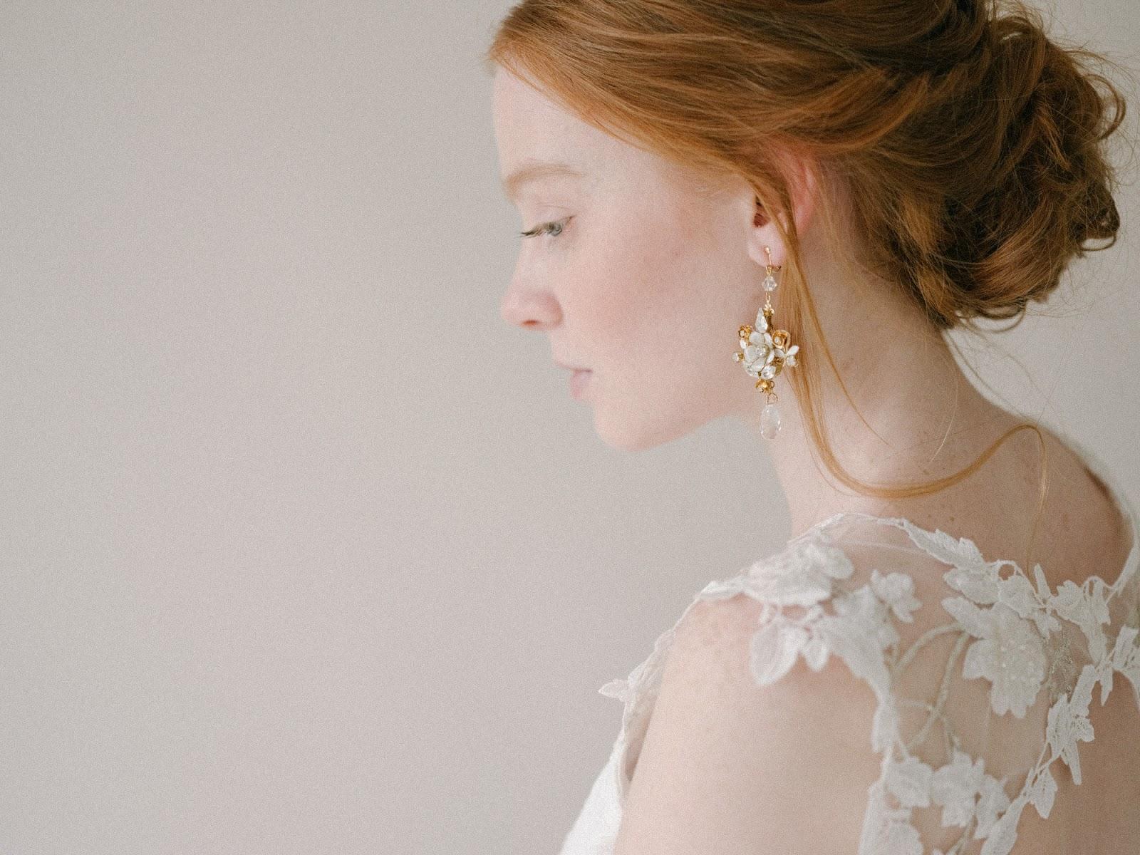 "Biżuteria ślubna panny młodej - delikatna czy ""na bogato""?"