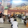 Kasat Lantas Polres Takalar,  Sampaikan Kultum Di Masjid Polres Takalar
