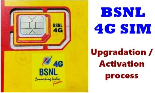 How to Upgrade Your BSNL 3G SIM To 4G: Know step by step activation process