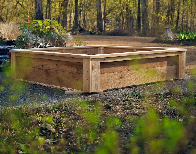 Minnesota cedar raised beds Artist & Builder LLC