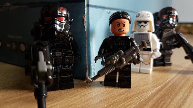 Иден Версио и отряд Инферно фигурка лего, набор lego, Звездные войны