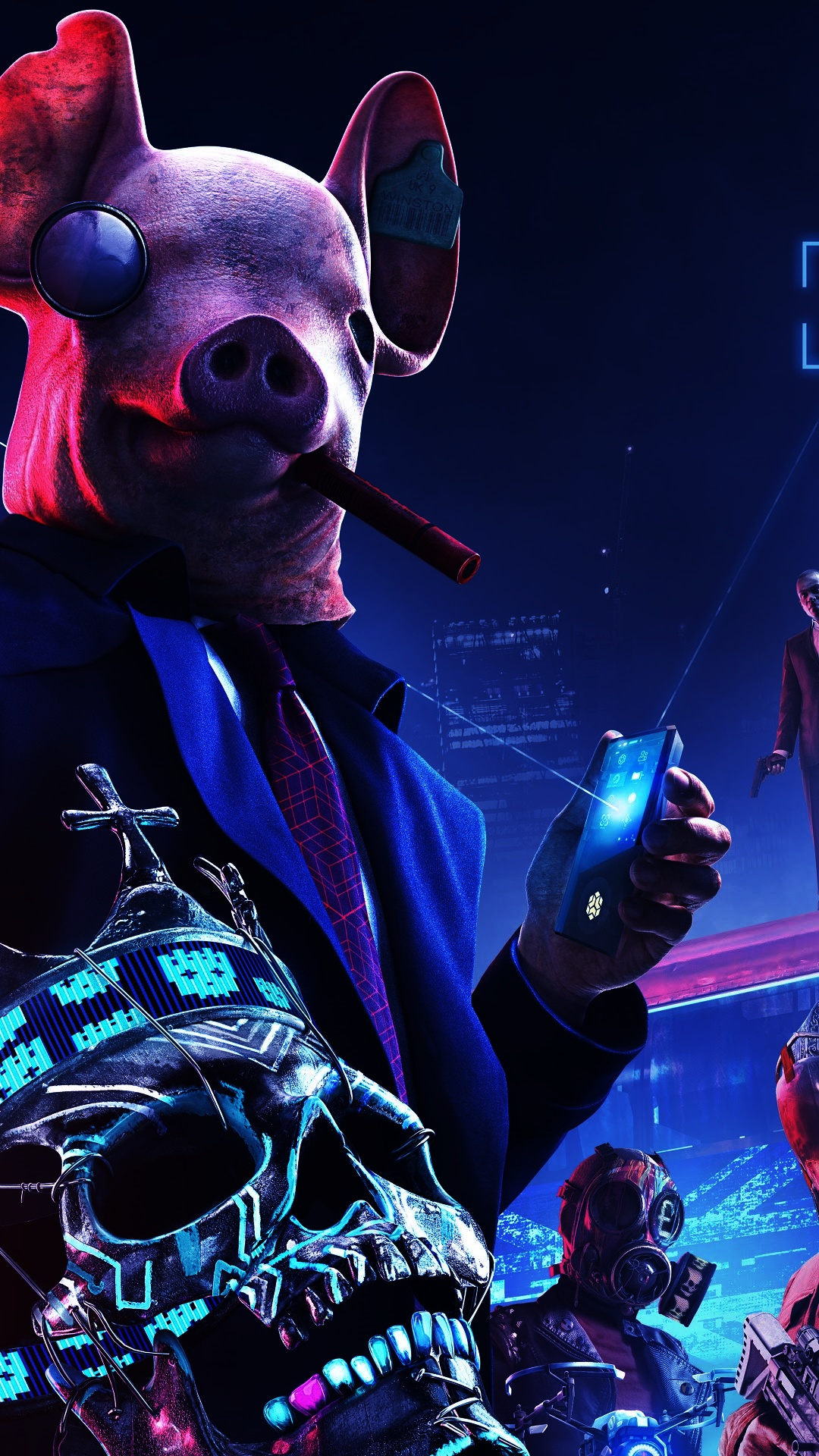 watch dogs wallpaper iphone mobile