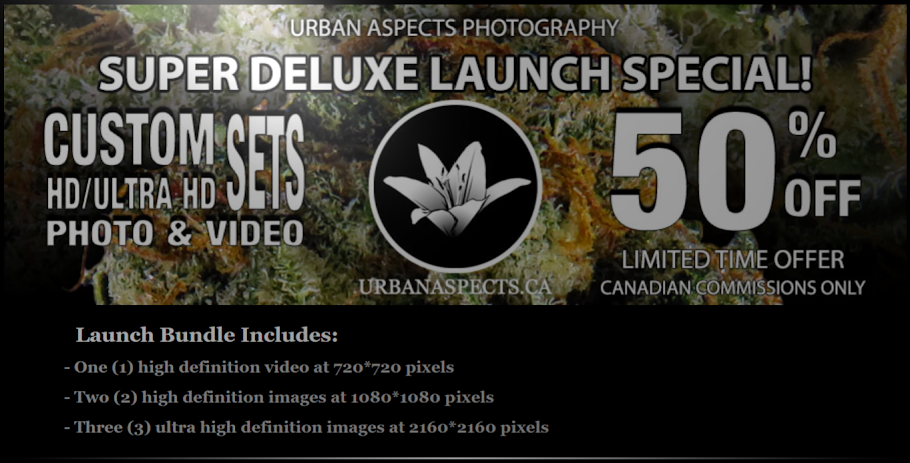 URBANASPECTS.CA LAUNCH BUNDLE