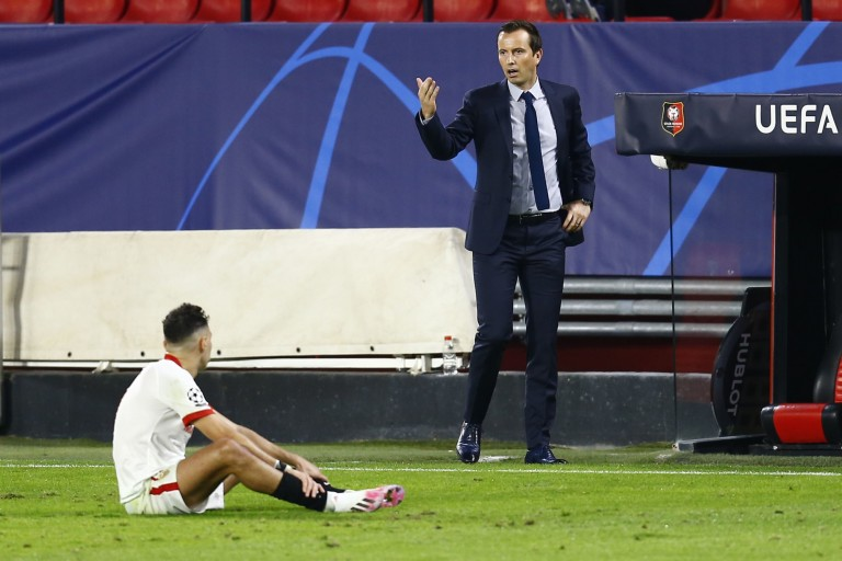 FOOTBALL - Stade Rennes: realistic Julien Stéphan after his defeat in Sevilla