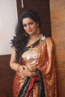 Udaya Bhanu lookssizzling in a Saree Choli at Gautam Nanda music launchi ~ Exclusive Celebrities Galleries 095.JPG