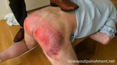 Degrading and painful punishment for Matt at No Way Out Punishment