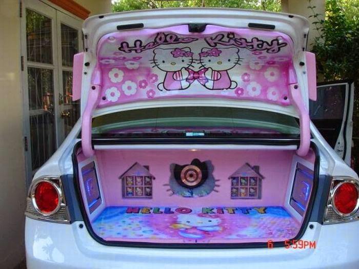 Hello Kitty Car Covers