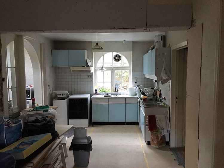 Before photos. Kitchen renovation in Belgium. E-design by Eleni Psyllaki My Paradissi