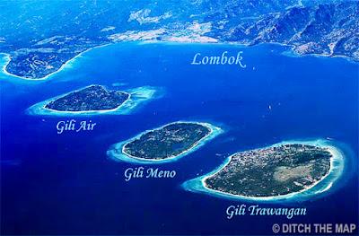 island of lombok indonesia