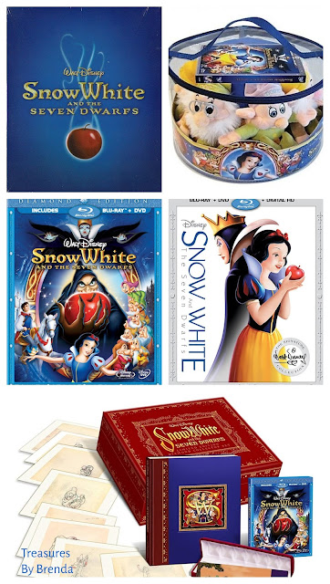 Snow White and the Seven Dwarfs Blu-ray Movie Review