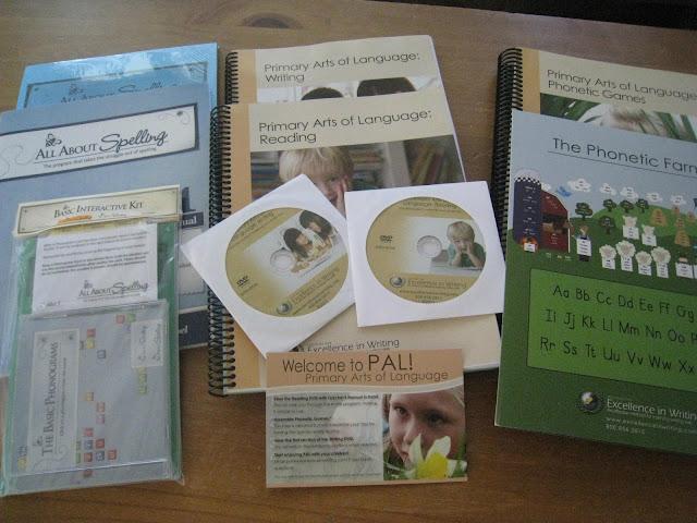 IEW Primary arts of language- beginning reading program