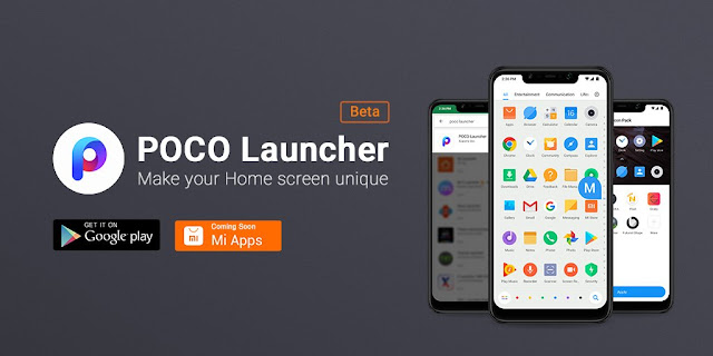 POCO Launcher v2.6.0.5 APK to Download : Launched by Xiaomi