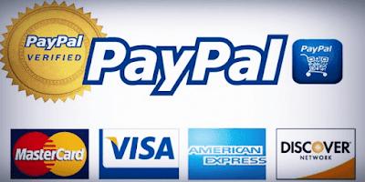 شرح كيفية تفعيل البايبال عن طريق البطاقات المصرفية بجميع انحاء العالم