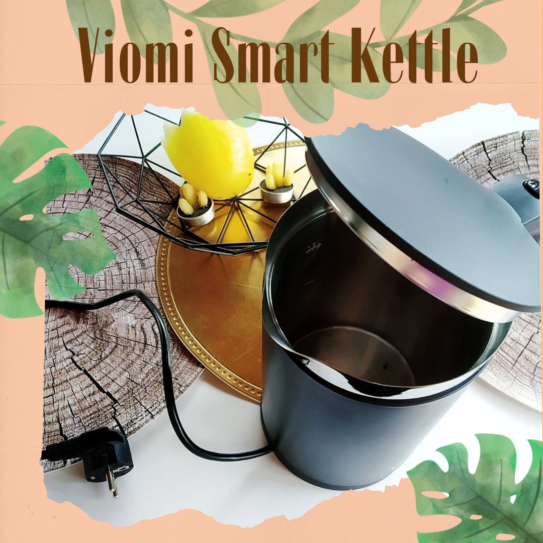 Viomi Smart Kettle - bo życie warto sobie ułatwiać.