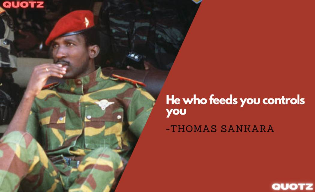 Best Quotes by Thomas Sankara about Africa.Women Liberation, Women Rights, Revolution, Leadership, Motivation, Inspiration, And More..