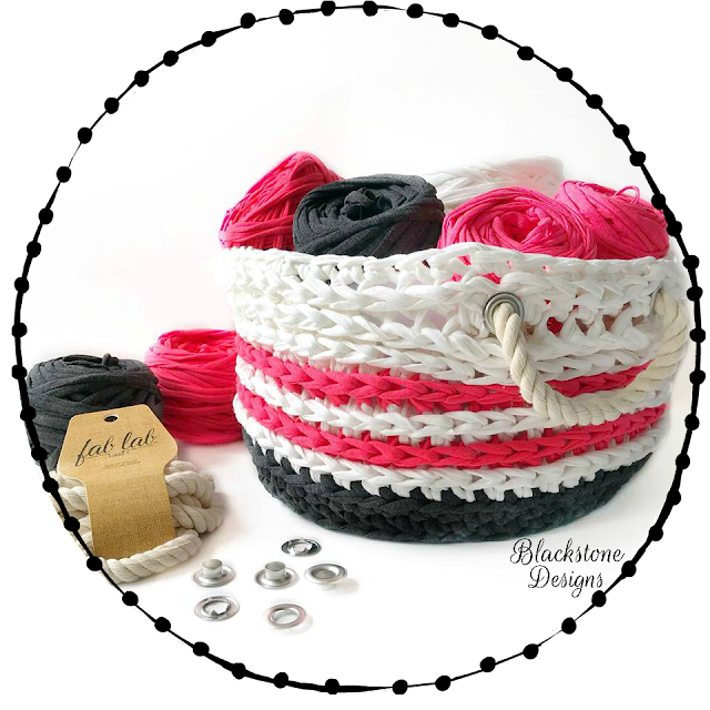 Free Crochet Basket Pattern Nautical