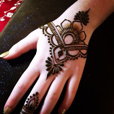 7 Best Simple Heena Designs For Hands