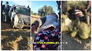 (بالفيديو) صفاقس.. 6 قتلى و5 جرحى في حادث مرور في  بئر علي بن خليفة على متنها عاملات فلاحيات