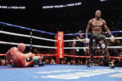 Deontay Wilder drops Tyson Fury