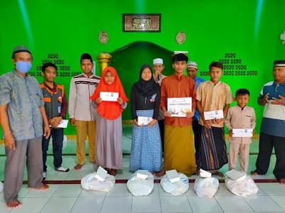 Pembagian Sembako Ramadhan dan Santunan Laznas Yatim Mandiri cabang Bekasi