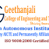 Geethanjali College of Engineering and Technology, Medchal, Wanted Teaching Faculty / Non-Faculty