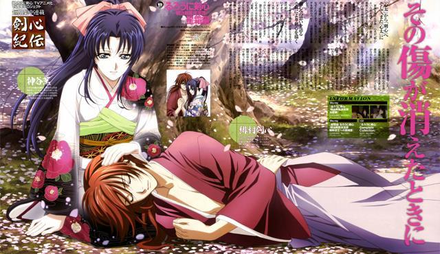Rurouni Kenshin: Meiji Kenkaku Romantan (Samurai X) - Daftar Rekomendasi Anime Action Romance Terbaik