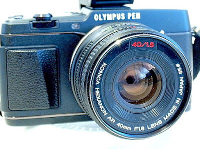 Olympus Pen E-P5, Konica Hexanon AR 40mm F1.8