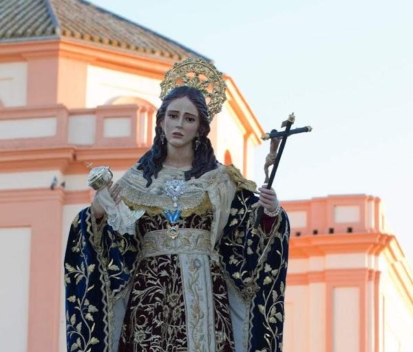 Horario e Itinerario Procesión Santa María Magdalena 225 aniversario ratificación canónica de su Patronazgo. Arahal (Sevilla) 12 de Octubre del 2021