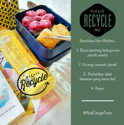 Recycle dan Reuse Sampah di Rumah