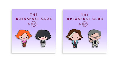 The Breakfast Club Pin Sets by 100% Soft x Mondo