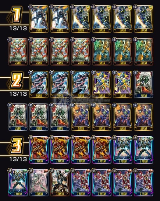 Nova Grappler Raizer Deck and Build 1