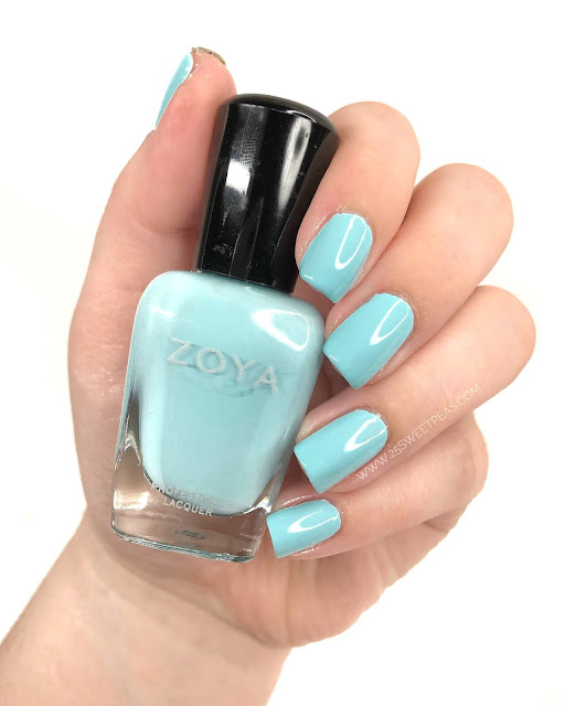 Zoya Eleni Swatch 25 Sweetpeas