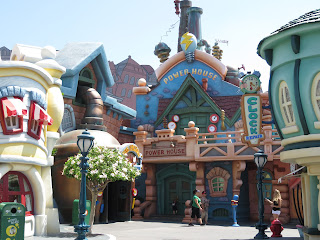 Toontown Power House Disneyland