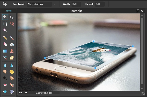 edit foto manipulasi 3D