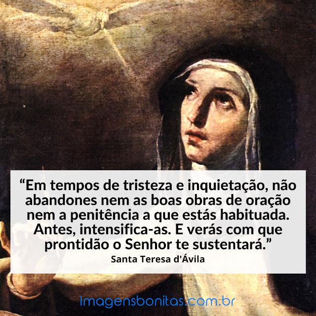 Frase de Santa Teresa d'Ávila
