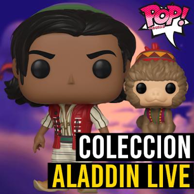 Lista de figuras funko pop de Funko POP Aladdin live action