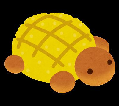かめパンのイラスト