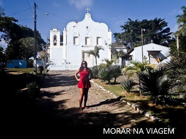 Igreja do Divino Espírito Santo - Ilha de Boipeba